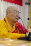 伟大的修士shenghui (1951年-) 免版税图库摄影