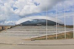 伟大的冰宫殿在索契奥林匹克公园 库存照片