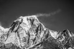 伟大的喜马拉雅山 库存照片