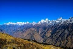 伟大的喜马拉雅山 免版税库存图片