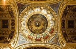 圣徒以撒大教堂,圣彼德堡,俄国 免版税库存照片