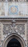 伟大的圣玛丽教会剑桥英国 免版税库存图片