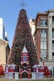 伟大的大圣诞树 免版税库存照片