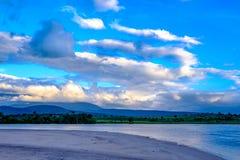 伟大的大草原,委内瑞拉,自然奇迹 免版税库存图片