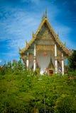 伟大的宫殿佛教寺庙在曼谷,泰国 库存照片