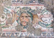 伟大的宫殿马赛克博物馆在伊斯坦布尔,土耳其 免版税库存图片