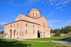 伟大的寺庙皮聪大 阿布哈兹 免版税库存照片