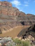 伟大的峡谷,关闭  免版税库存图片