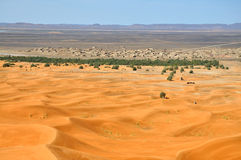 沙漠镇 免版税库存图片