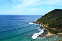伟大的海洋路 免版税图库摄影