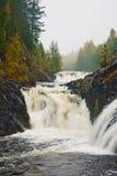 伟大的瀑布在斯堪的那维亚 免版税库存图片