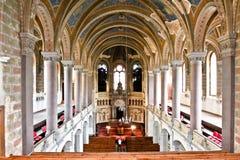 伟大的犹太教堂,比尔森,捷克共和国 图库摄影