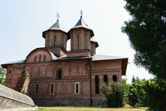伟大的王侯的教会在Targoviste, Dambovita,罗马尼亚 免版税库存照片