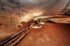 伟大的硝石洞 库存照片