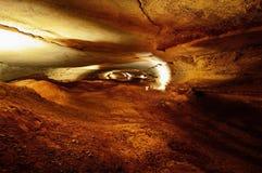 伟大的硝石洞 库存图片