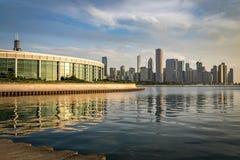 伟大的美国城市--芝加哥 免版税库存图片
