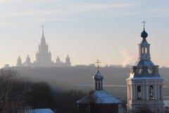 伟大的莫斯科 免版税库存照片