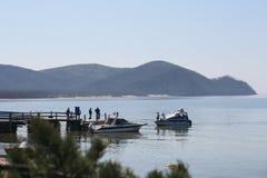 伟大的贝加尔湖,俄罗斯 免版税图库摄影