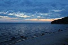 伟大的贝加尔湖,俄罗斯 免版税库存照片