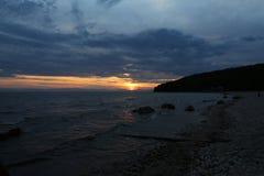 伟大的贝加尔湖,俄罗斯 库存图片