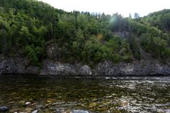 伟大的贝加尔湖,俄罗斯 免版税库存图片