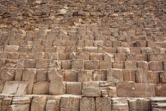 伟大的金字塔块  免版税图库摄影
