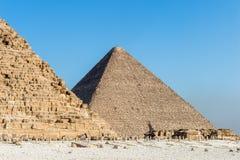 伟大的金字塔 埃及 免版税图库摄影