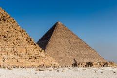 伟大的金字塔 埃及 免版税库存图片