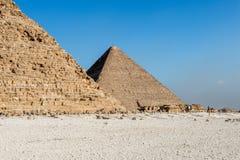 伟大的金字塔 埃及 图库摄影