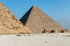伟大的金字塔 埃及 库存照片