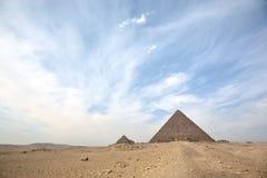 伟大的金字塔 库存照片