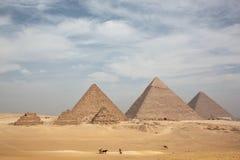 伟大的金字塔 图库摄影