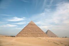 伟大的金字塔 库存图片