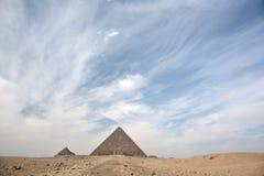 伟大的金字塔 免版税库存照片
