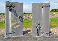 伟大的饥荒纪念碑 免版税库存照片