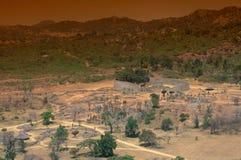 伟大的津巴布韦废墟 免版税库存照片