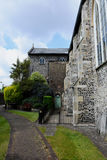 伟大的医院,诺威治,诺福克,英国 免版税库存图片