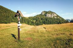 伟大的Fatra (Velka Fatra)国家公园,斯洛伐克 库存照片