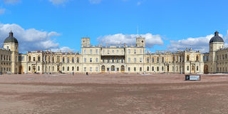 伟大的Gatchina宫殿,俄罗斯 库存照片