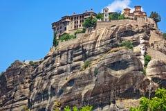 伟大的Meteoron圣洁修道院 Kalambaka,希腊 库存图片