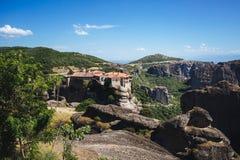 伟大的Meteoron的修道院 库存照片