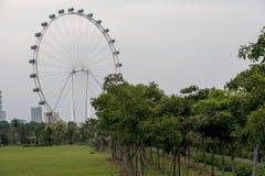 传单新加坡 免版税库存照片