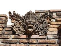 传奇字符雕象被创造尊敬和泰国的文化表示 免版税库存照片
