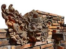 传奇字符雕象被创造尊敬和泰国的文化表示 库存图片
