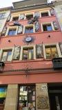 传奇房子  利沃夫州 乌克兰 免版税库存照片