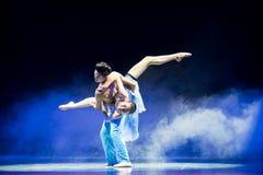 传播翼现代舞蹈 库存图片