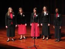 传教士歌唱家姐妹 库存照片