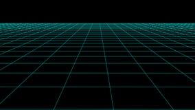 传染媒介与明细行的透视栅格 向量例证