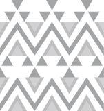 传染媒介中立几何无缝的样式背景 向量例证