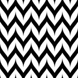 传染媒介之字形雪佛无缝的样式 弯曲的波浪之字形线 图库摄影